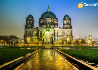 Berlin Cathedral at Dusk