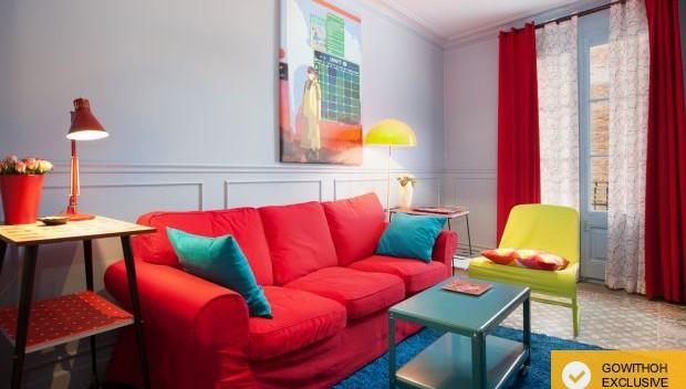 The polka-dot apartment
