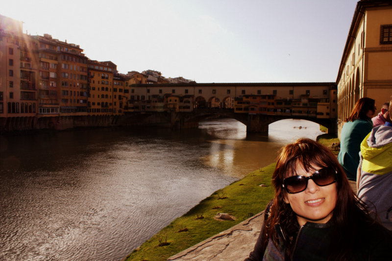 The iconic Ponte Vecchio