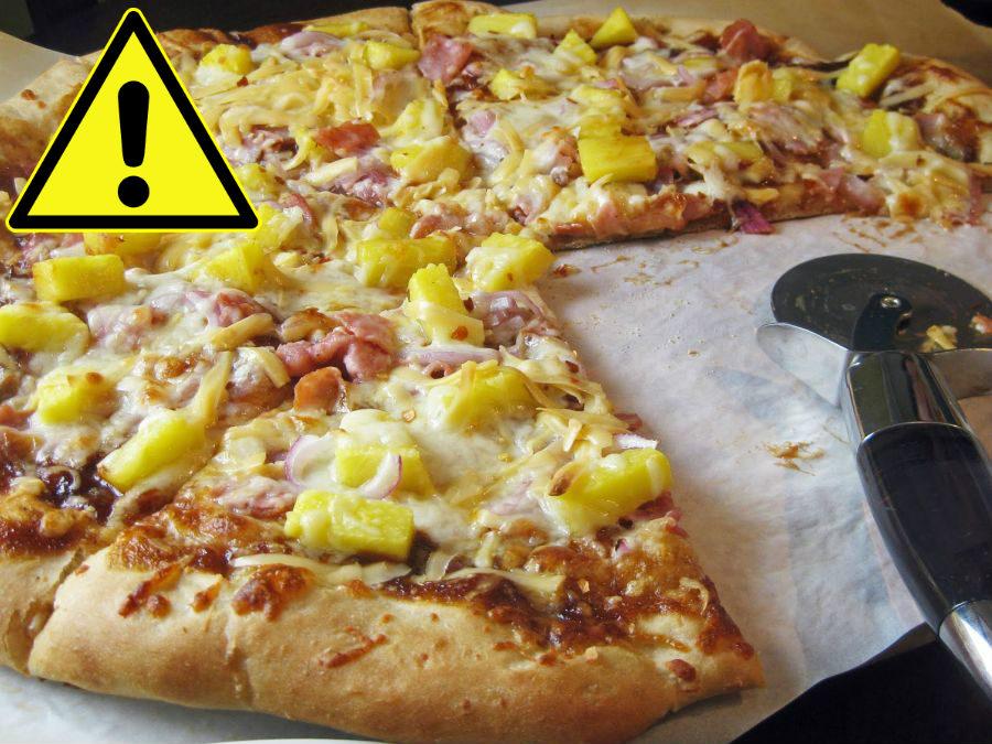 pizza pineapple