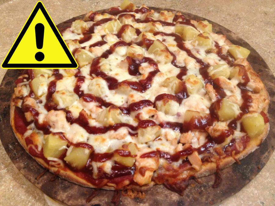 ketchup pizza