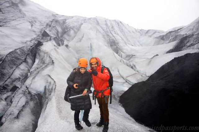 Savid and Vid - Glacier Hike in Iceland