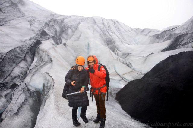 Savid and Vid - Glacier Hike in Iceland