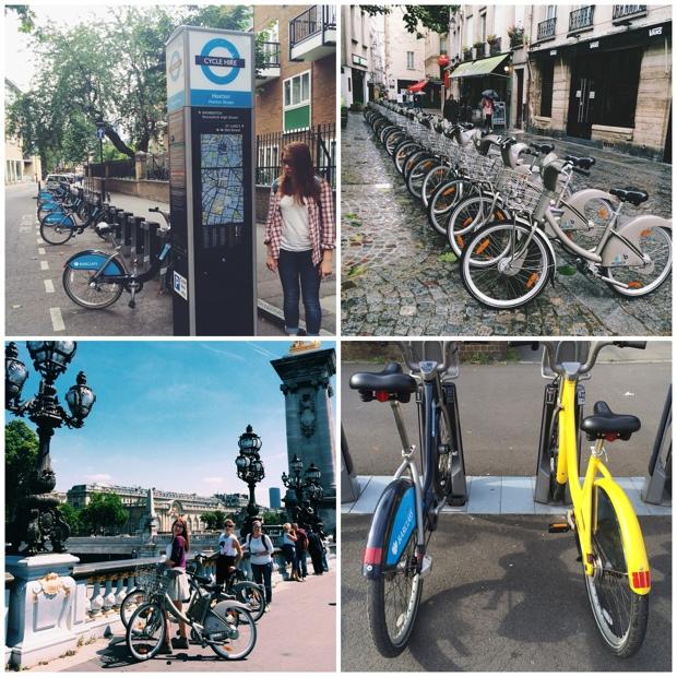 Biking in London