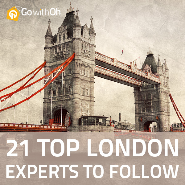 21 Top London Experts to follow