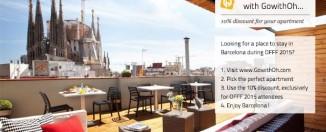 Offf barcelona 2015 apartment