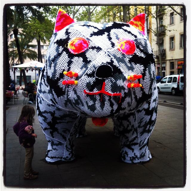 Botero Cat Rambla Raval