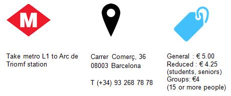 Practical Information Chocolate Museum Barcelona