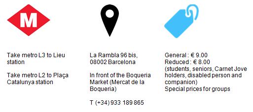 Practical Information Erotic Museum Barcelona