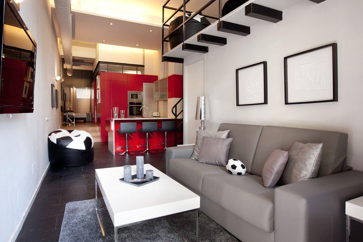 Modern loft Barcelona