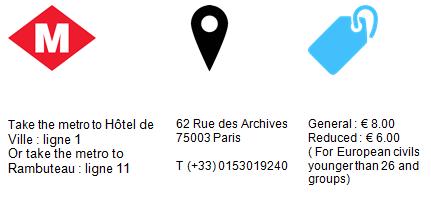 Practical Information Museum de la Chasse et de la Nature Paris GowithOh