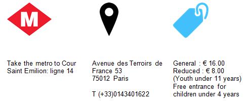 Practical Information Museum Carnival Arts Paris GowithOh