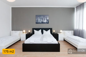 Spacious apartment for up to 13 people in Schöneberg