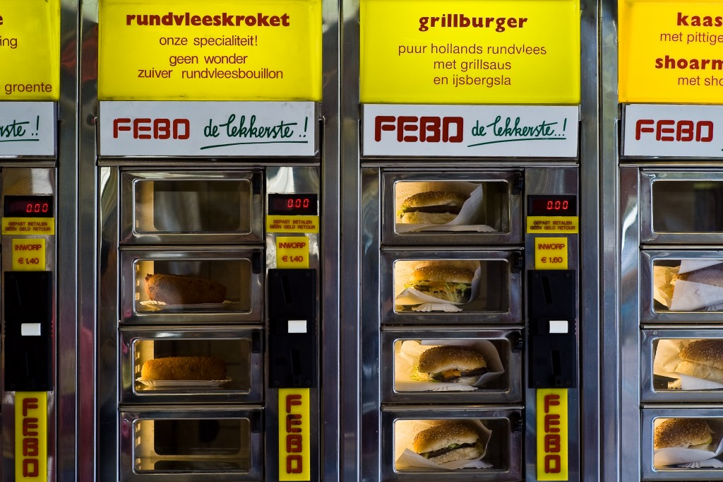 Snackwall Febo - Amsterdam Article GowithOh