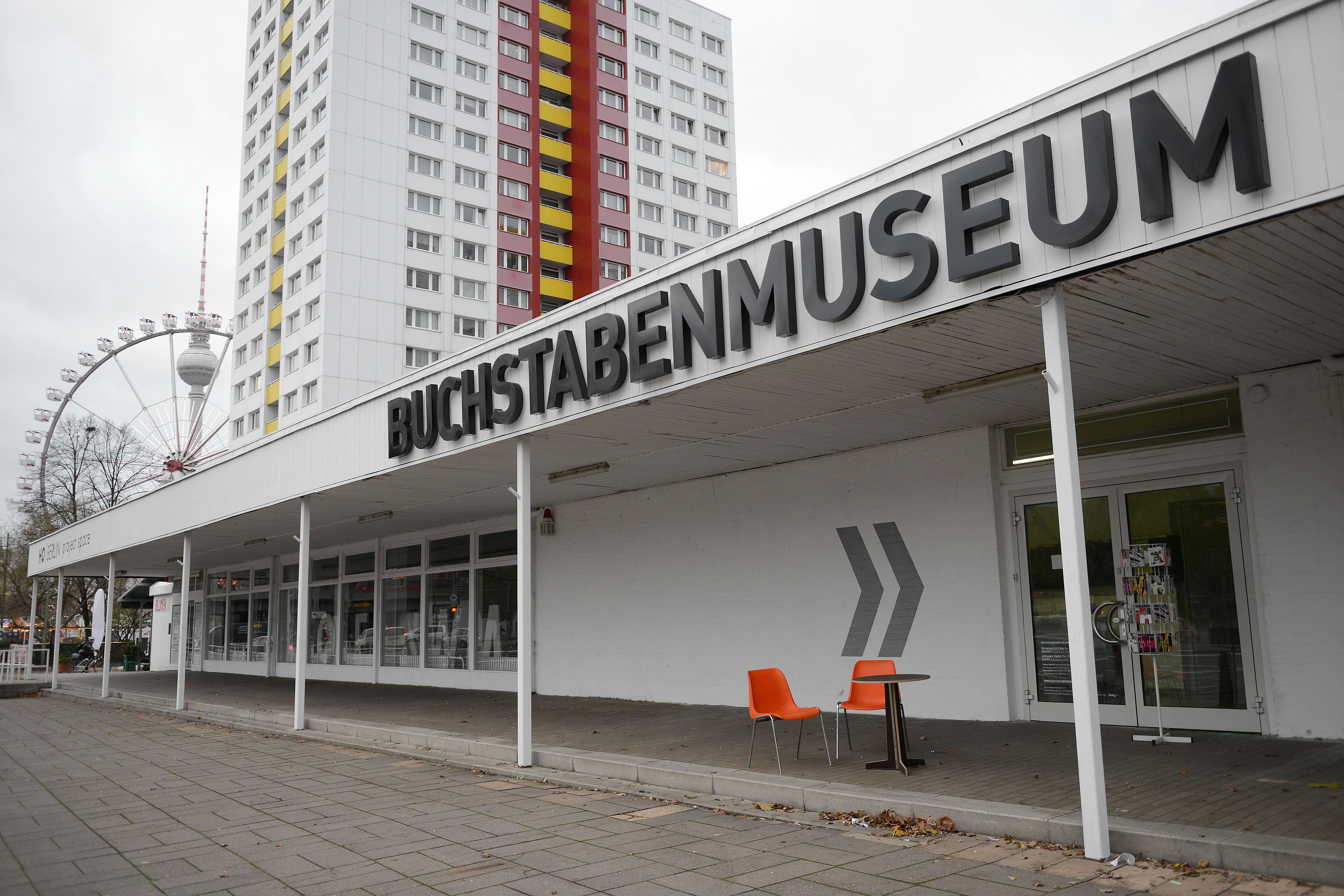 Buchstabenmuseum Berlin - GowithOh
