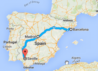 perfect itinerary spain
