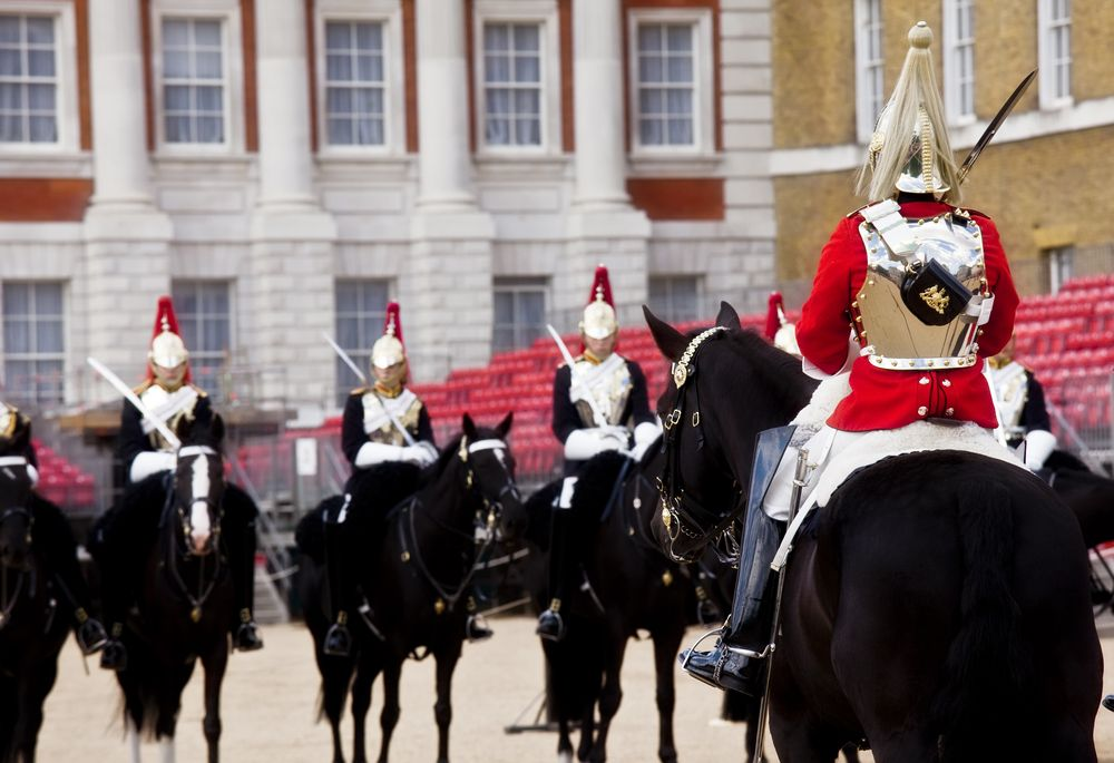 London Horse Guards Buckingham Palace