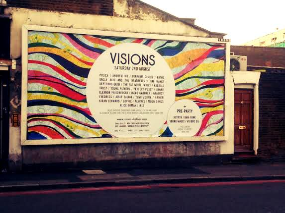 visions festival London
