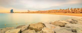 best beaches barcelona