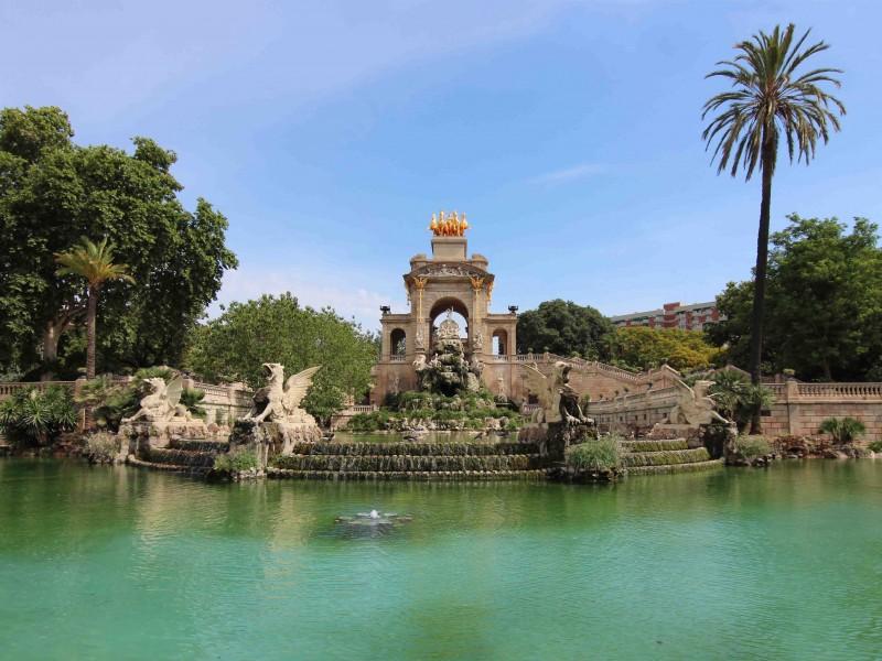 Barcelona with kids - Ciutadella Park