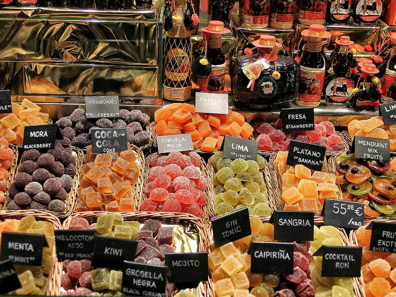 Food markets in Barcelona - Gowithoh