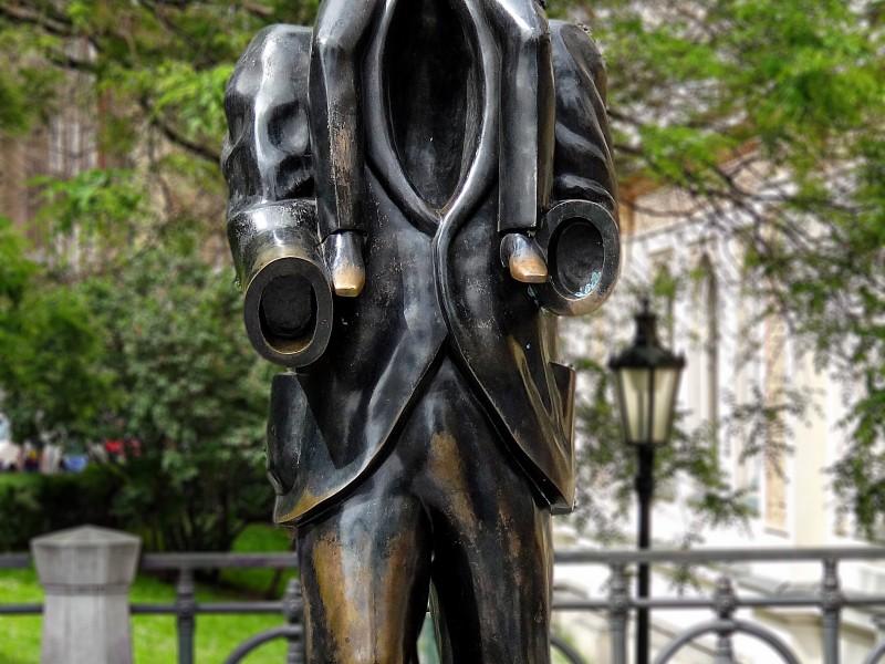 Kafka´s sculpture in Prague